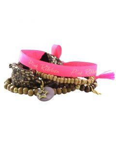 Pink Ribbon armband 2016