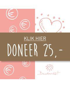 Doneer 25