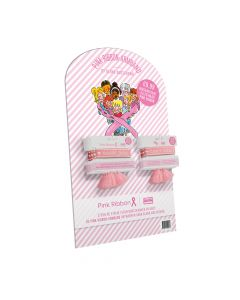 Pink Ribbon Armband 2021 Display NL - 30 stuks