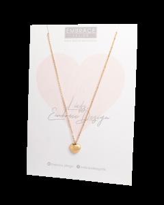Pink Ribbon - ketting Jeannette Embrace Design