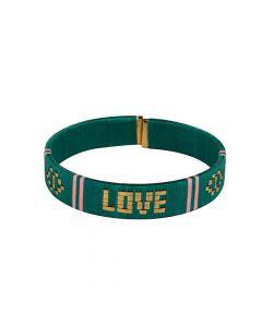 PSCALLME armband Love Bangles Groen