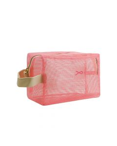 Pink Ribbon Toillettas mesh